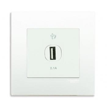 Bộ ổ cắm sạc USB đơn 2.1A
