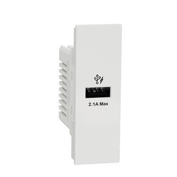 Ổ sạc USB type A, 2.1A size S