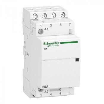 Contactor iCT, 4P, điện áp cuộn dây 230/240VAC