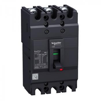 EasyPact EZC100, 3P, Type B, Icu=7.5kA/415V