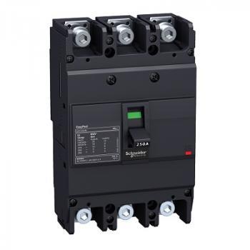 EasyPact EZC250, 3P, Type H, Icu=36kA/415V