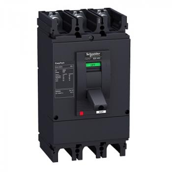 EasyPact EZC400/630, 3P, Type N, Icu=36kA/415V