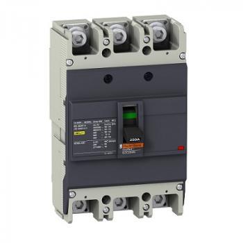 EasyPact EZC250, 3P, Type N, Icu=25kA/415V