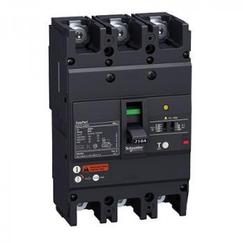 EasyPact EZCV250, 3P, Type N, Icu=25kA/415VAC