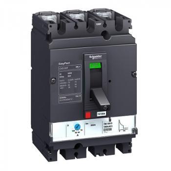 EasyPact CVS100/630, 3P, Type F, Icu=36kA/415V