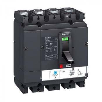 EasyPact CVS100/630, 4P, Type F, Icu=36kA/415V