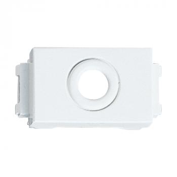 Lỗ ra dây điện thoại phi 9mm, màu trắng