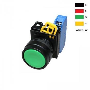 Nút nhấn không đèn, IP 65 ngoài mặt tủ