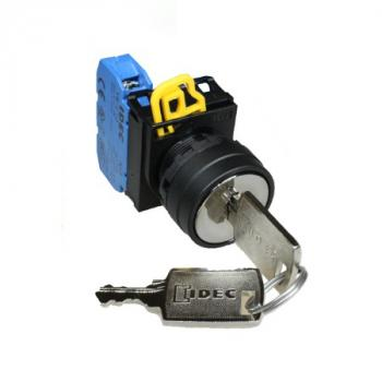 Công tắc xoay có khóa 3 vị trí (45 độ), IP65 ngoài mặt tủ